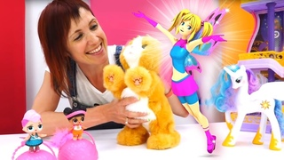 Маша Капуки и фея Мими - все серии с Барби и Эмили