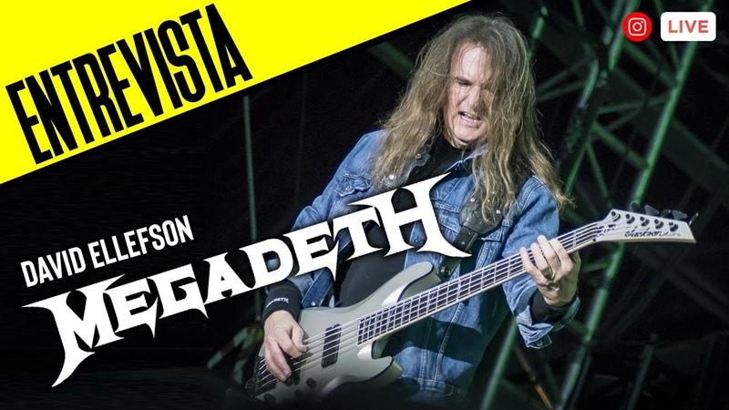 ENTREVISTA Megadeth David Ellefson TheMetalCircusTV