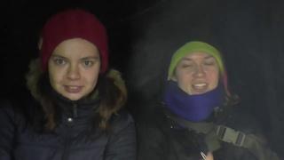 Поход первого снега. Званый ужин в походе.  Дашутка готовит потрясающее рагу