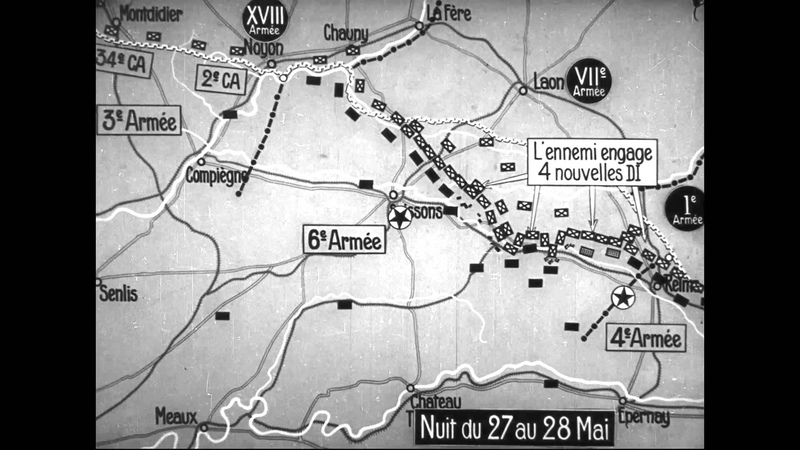 The Battle of L'Aisne, May 27 - June 16, 1918