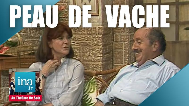 Au Théâtre Ce soir Peau De Vaches avec Sophie Desmarets Archive INA