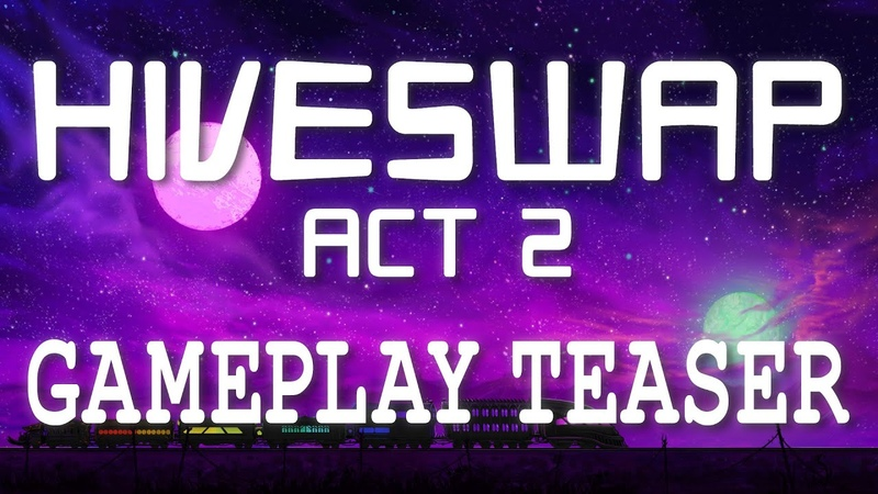 HIVESWAP Act 2 Gameplay Teaser OUT NOVEMBER 25 2020