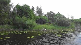Рыбалка в новом месте  Заброшенное поселение, ночевка на камне