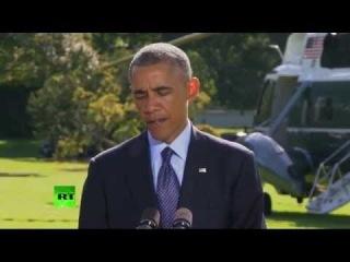 Заявление Барака Обамы по ситуации в Сирии
