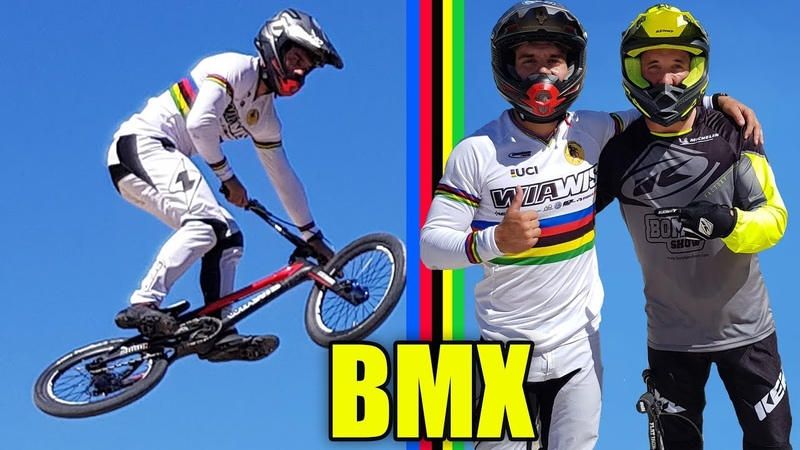 JE DÉFIE LE CHAMPION DU MONDE DE BMX RACE
