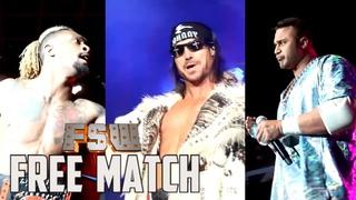 FREE MATCH   John Morrison vs. Chris Bey vs. Teddy Hart   March 17, 2019