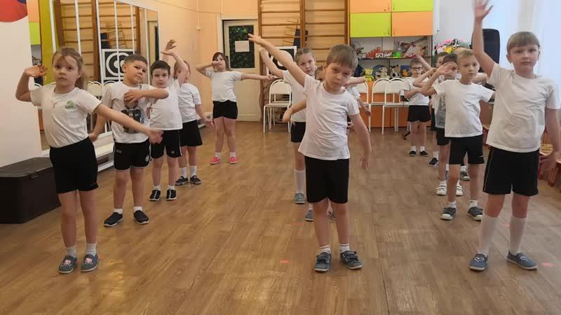 Противовирусный танец МБДОУ Детский сад №25 г Арзамас