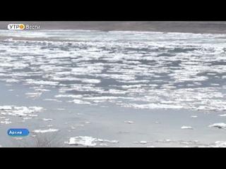 Последнюю ледовую переправу закрыли в Иркутской области