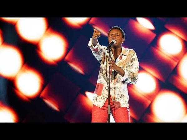 "Tusse Chiza - ""You shook me all night long"" – AC/DC (Scary Pockets version) – … - Idol Sverige (TV4)"
