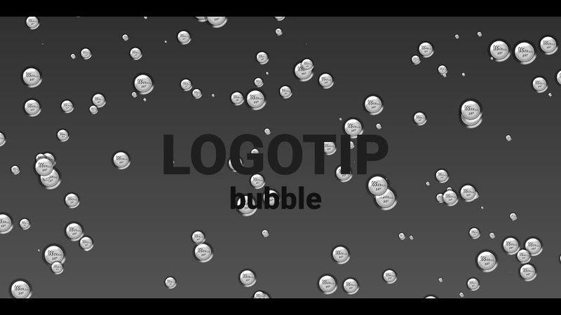 Bubble logotip HTML CSS