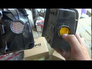 Отзыв о передних указателях поворота правый/левый  VOLKSWAGEN PASSAT B3 1988-1993.  Фирмы DEPO.