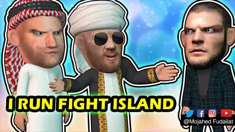 Conor McGregor arrives to Fight Island in a Fashion 1 mp4