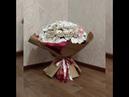 Букет 101 белая роза из изолона!