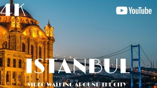 Istanbul Turkey 🇹🇷 Walking Europe in 4k Dji Osmo Pocket