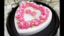 How to make Heart Birthday Jelly Cake with Coconut Milk Jelly I How To Jelly